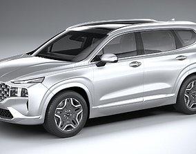 Hyundai SantaFe 2021 3D model