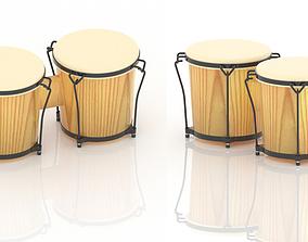 congo 3D Congo or Drum Model