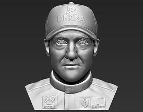 Michael Schumacher bust 3D printing ready stl obj