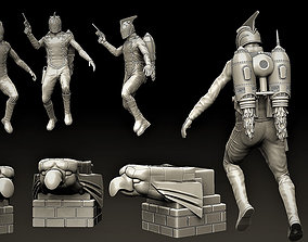3D printable model The Rocketeer