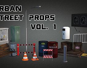 3D model Urban Street Props Vol 1
