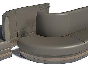 3D booth outer corner radius 15 inch