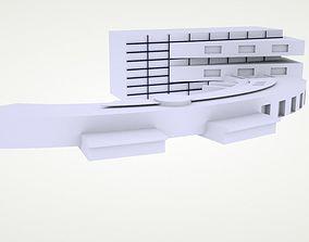 engineering modern build 3D print model