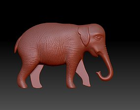 elephant miniatures 3D print model