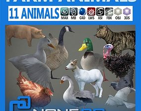 Pack - Farm Animals 3D