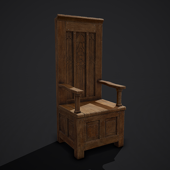 Medieval Royal Chair