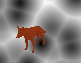 Dog Animal 3D print model