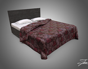 Bed 01 VR ready 3D model realtime