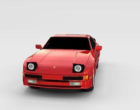 Porsche 944 new rev 3D