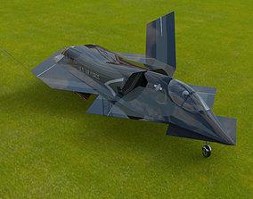 YF-23 Phantom 3D