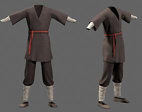 3D asset Martial attire