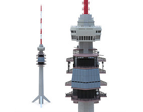 Telecommunication Tower 02 3D