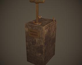 3D asset Dynamite Detonator