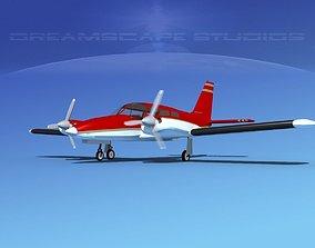 Piper PA-34 Seneca V07 3D