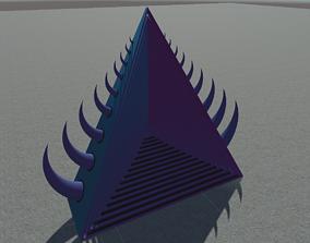 3D model Triangle Portal Struct