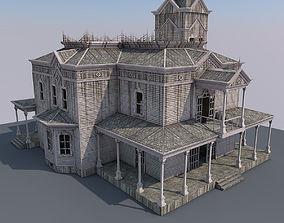 3D model Abandoned House H02