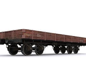 railway carriage 3D model