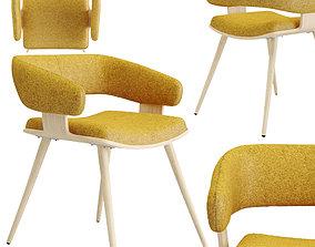 3D asset Heiman chair yellow