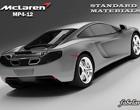 MCLAREN MP4-12 STD MAT 3D
