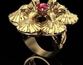 3D print model Ring the dance