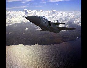 3D asset SAAB Gripen JAS 39