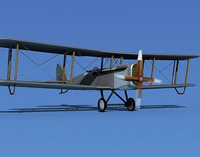 3D model Airco DH-4 Air Mail Unmarked