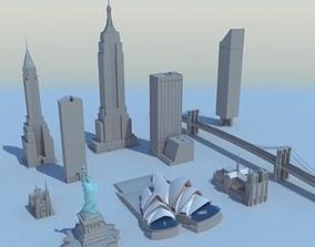 Landmark Collection 01 3D model