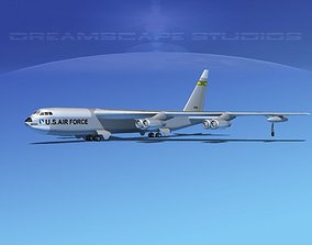 3D model Boeing B-52C Stratofortress V05