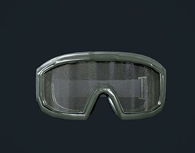 Military Gear Equipment Goggles Game Ready 3D model