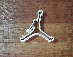 Air Jordan cookie cutter 3D print model