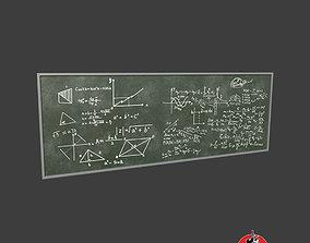 Chalk Board 3D asset