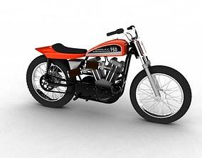 Harley-Davidson XR750 1970 3D model