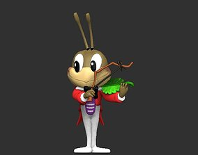Cri-cri the singing cricket for 3D printing
