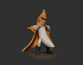 banana funny 3D print model