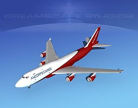 Boeing 747-400 Armcorps Cargo 3D