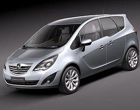 3D model Opel Meriva 2011