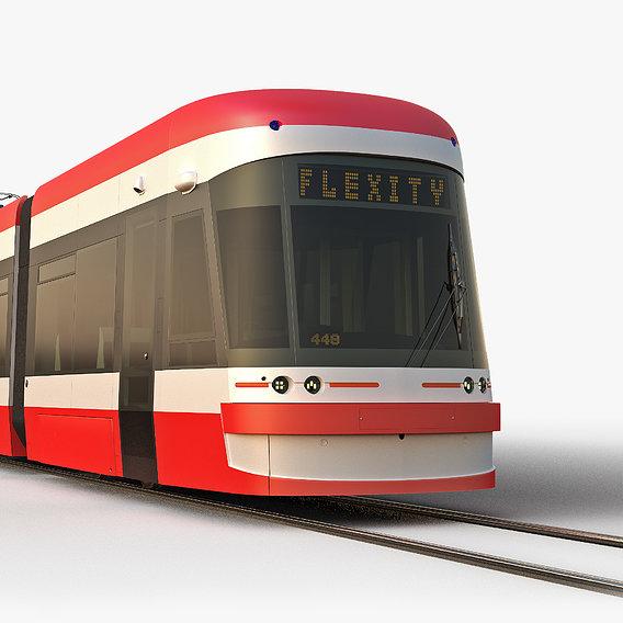 Tram Bombardier Flexity Outlook