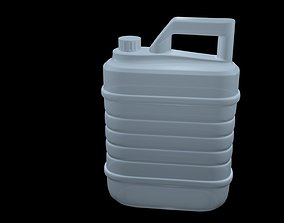 3D model Plastic canister 5