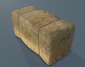 3D asset Hay Bale