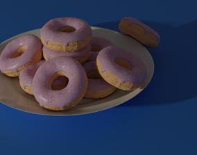 dessert Donuts 3D model