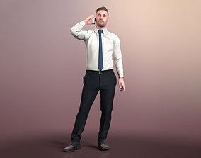 Tony 20377-04 - Animated Talking Business Man 3D model
