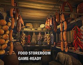 3D asset Food storeroom