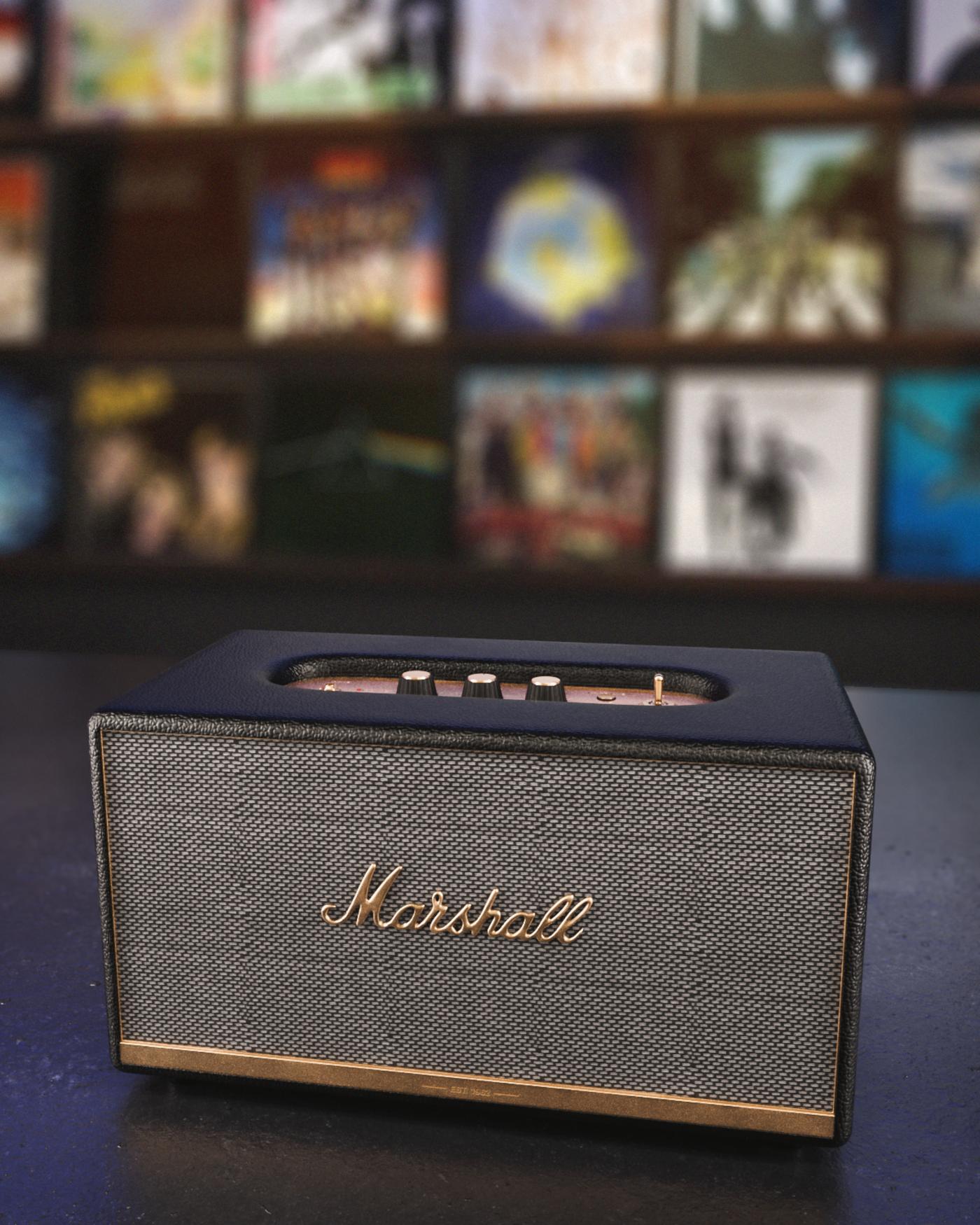 3D Marshall Speaker - 1