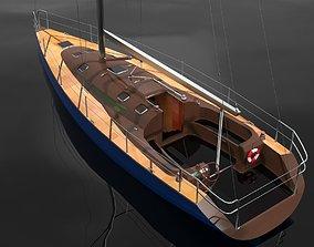 Sailboat 3D