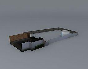 Garden design 3D model