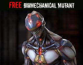 3D asset Free Biomechanical Mutant
