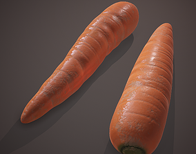 3D asset Carrots