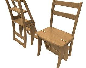 3D asset Library Chair