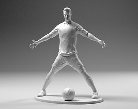 Footballer 02 PowerStand 01 STL games-toys 3D print model