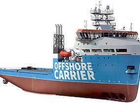 Offshore Carrier Stock 3D model commercial